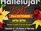 Hallelujah Night - Oct. 31st